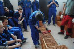 Szkolenie dla uczniów klas budowlanych