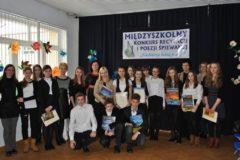 Międzyszkolny Konkurs Recytacji i Poezji Śpiewanej