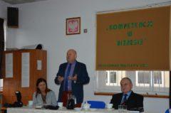 Konferencja SzOKZ z Panem Janem Puchałą Starostą Powiatu Limanowskiego
