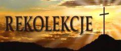 """Rekolekcje Wielkopostne """"Mocni Duchem"""" – program"""