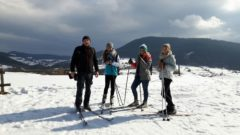 Trasami narciarstwa biegowego…