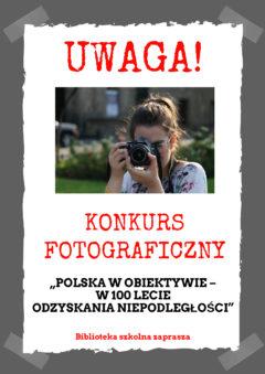Zrób zdjęcia i przynieś do biblioteki!