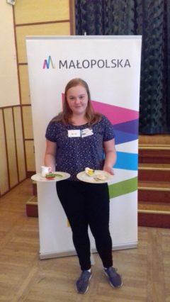 Sukces naszej uczennicy w konkursie gastronomicznym
