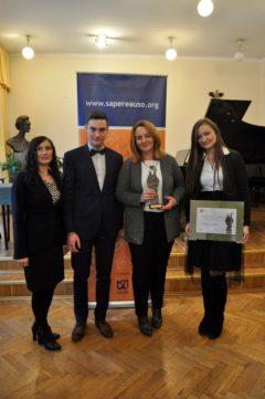 Nagroda Jakości Nauczania SAPERE AUSO dla naszej szkoły