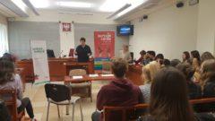 Zajęcia w Sądzie Rejonowym w Limanowej w ramach edukacji prawnej