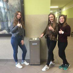 Kolejne źródła wody pitnej w szkole