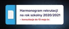 Rekrutacja do szkół ponadpodstawowych na rok szkolny 2020/2021 –  wkrótce poznamy nowe terminy