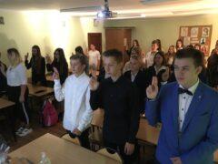 Uroczyste ślubowanie uczniów klas pierwszych