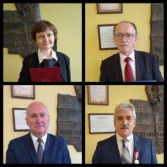 Prestiżowe nagrody i odznaczenia dla nauczycieli Zespołu Szkół Nr 1 im. Józefa Piłsudskiego w Limanowej