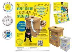 Akcja pomocy schroniskom dla zwierząt