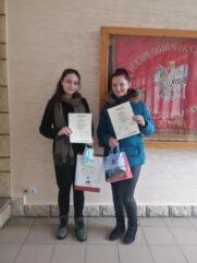 Sukcesy naszych uczennic w konkursie filozoficznym