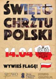 14 kwietnia – Święto Chrztu Polski