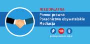 Nieodpłatna pomoc prawna, poradnictwo obywatelskie oraz mediacje